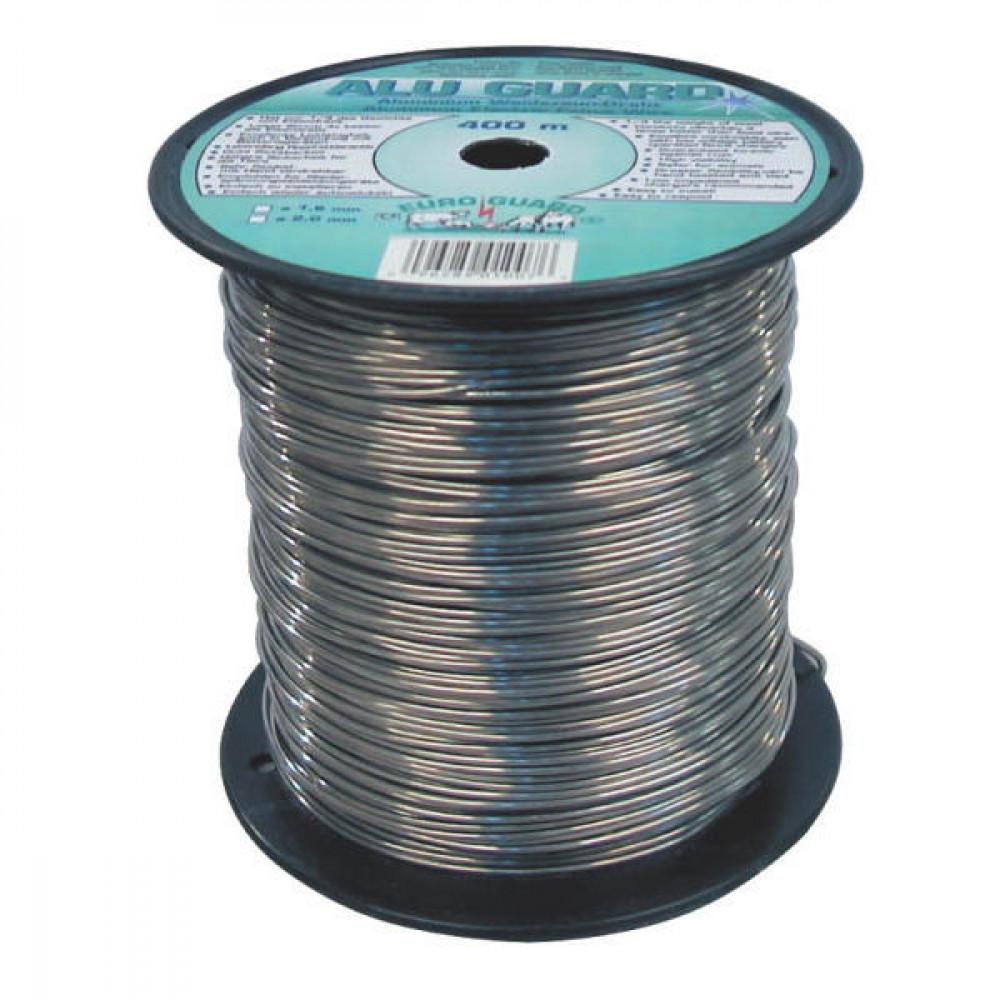 AKO Aluminiumdraad 2 mm x 400m - 445003 | 0,01 Ohm Ohm/m | Aluminium