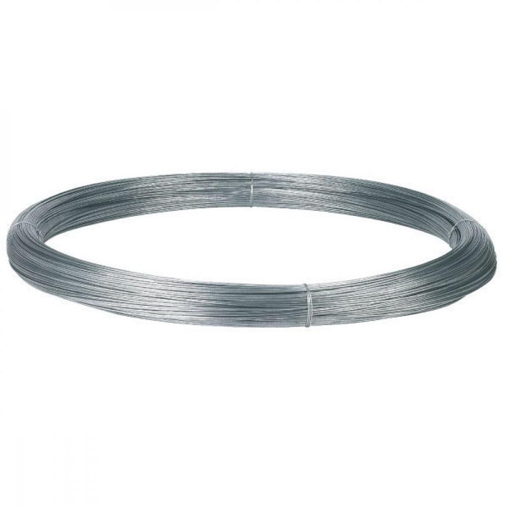 AKO Gealuminiseerd draad 625m 2,5 - 44505 | 2,5 mm | 0,035 Ohm Ohm/m | Zink / aluminium