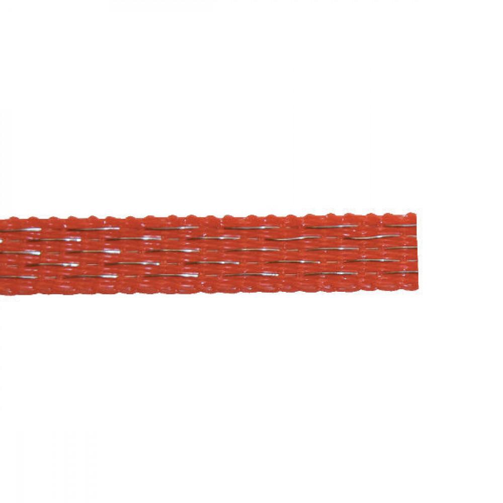 AKO Schriklint 10mm 200m oranje - 449566 | Oranje | 90 kg | 0,374 Ohm Ohm/m | 0,30 mm