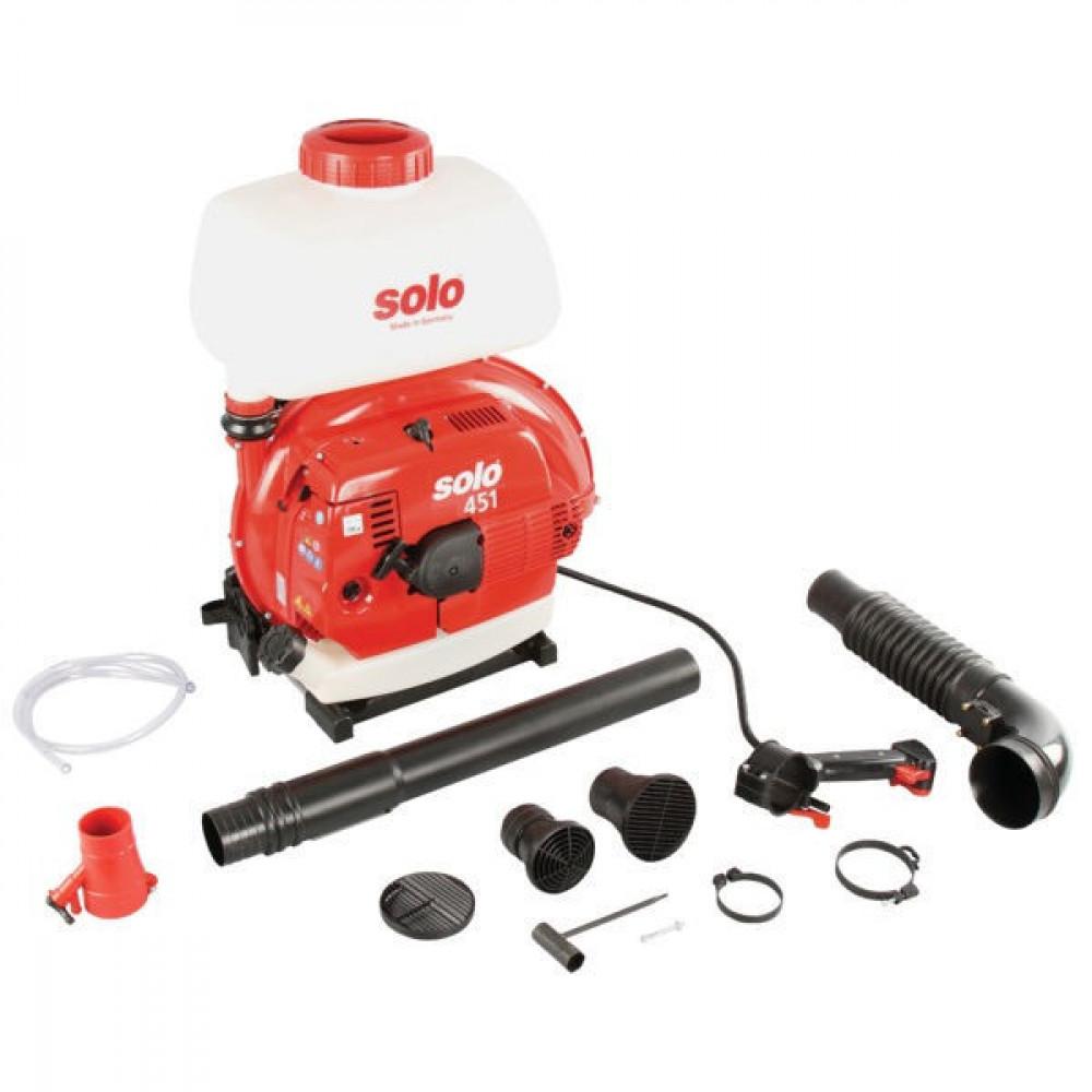 Motorrugvernevelaar Solo 451 - 451SP | Solo 2takt 66,5 cc | 2,1 / 2,9 kW | 10,8 kg | 94 dB(A) | Nee Ja/Nee