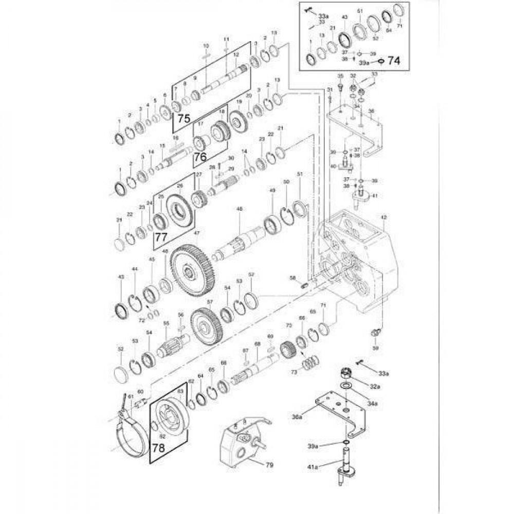 Oliekeerring 45x85x10 - 458510CCP001 | 45 mm | 85 mm | 10 mm | Nitrilrubber (NBR) | Verenstaal
