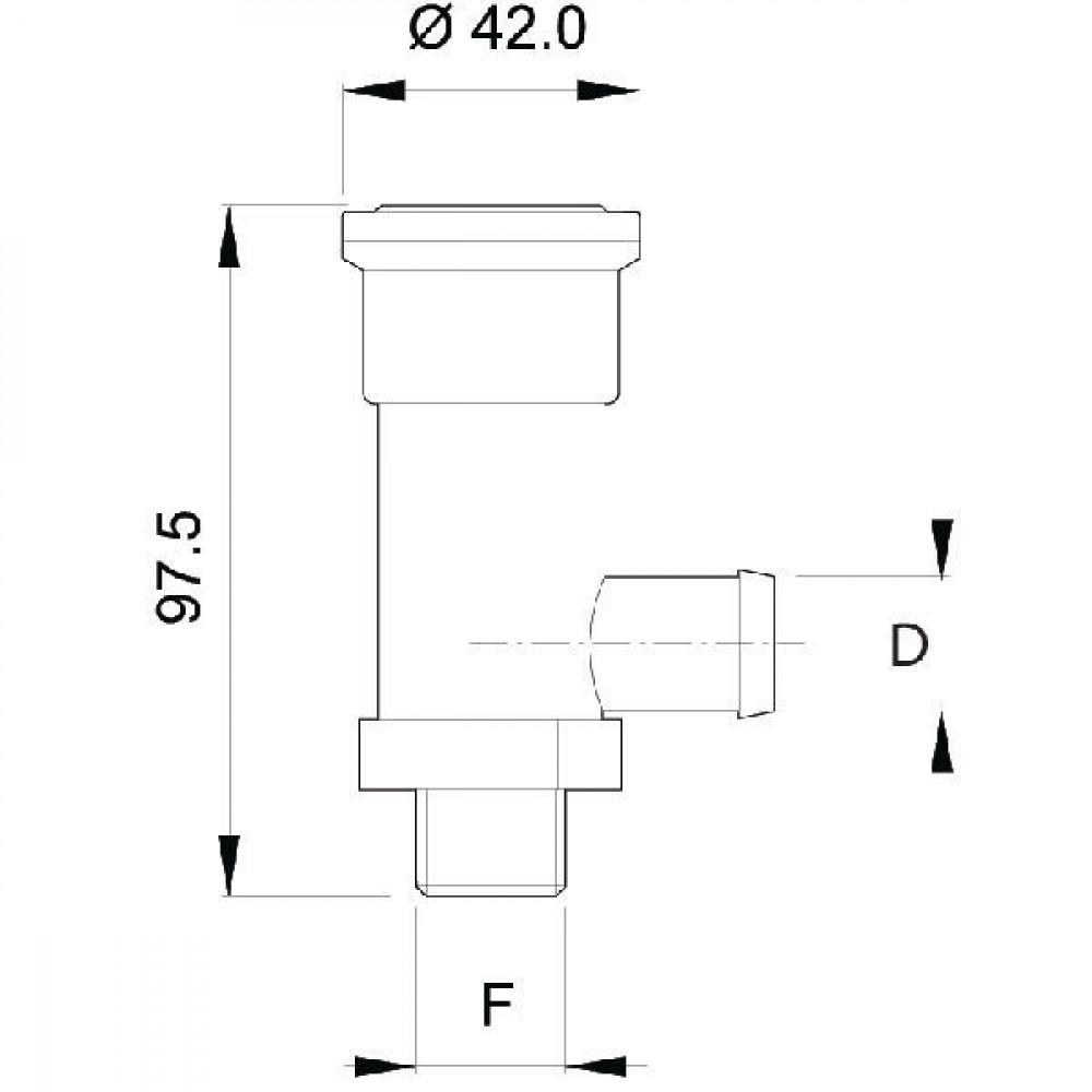 Arag Drukbegrenzingsventiel - 459320 | 280 l/min