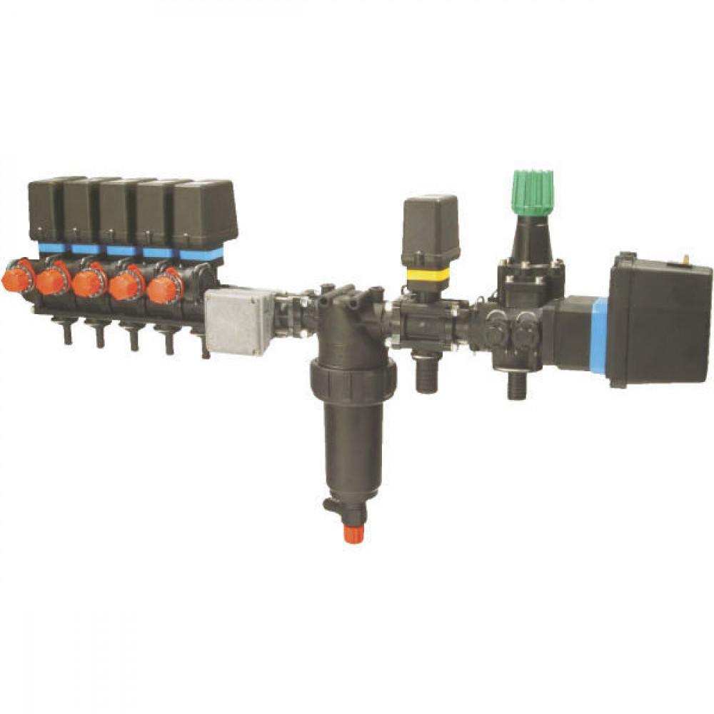 Arag Regelarmatuur Bravo 5TB 200l - 4645502U7DS | Moduleconstructie | Voor sproeimachines | Bravo 110, 120, 180, 300S | 5 secties | 20 bar