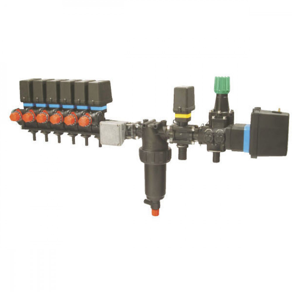 Arag Regelarmatuur Bravo 6TB 250l - 4645602U7DS | Bravo 110, 120, 180, 300S | 6 secties | 20 bar