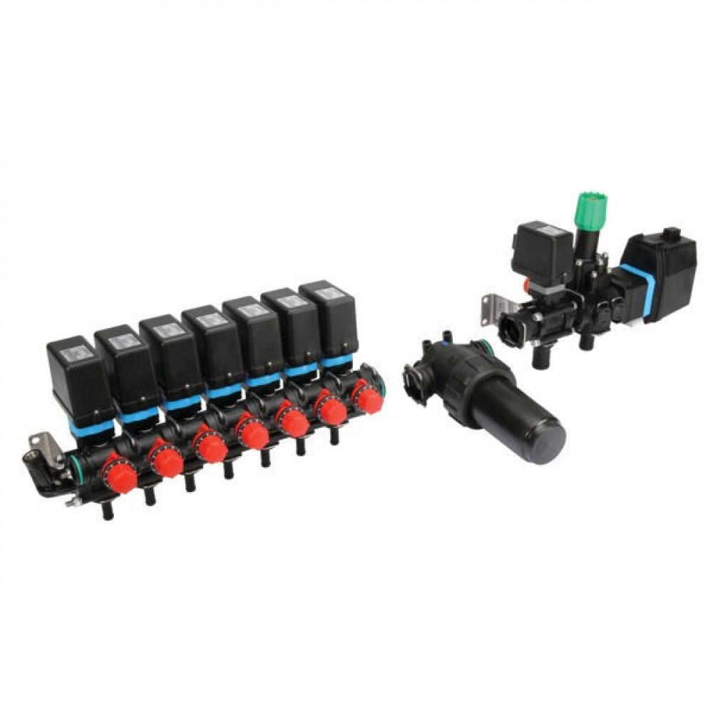Arag Elektr. regelarmatuur 7 V.+fi - 4645702F5SKIT | Moduleconstructie | Voor sproeimachines | 7 secties | 20 bar