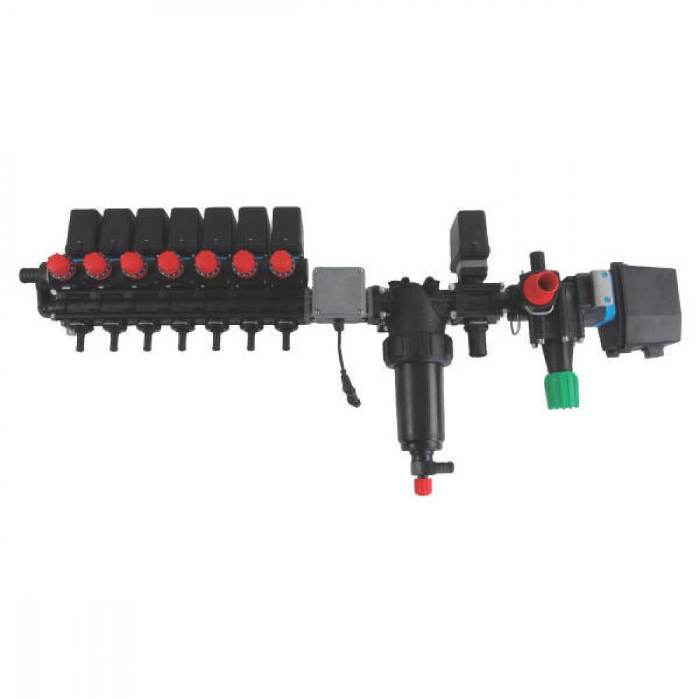 Arag Regelarmatuur Bravo 7TB 250l - 4645702U7DS | Moduleconstructie | Voor sproeimachines | Bravo 110, 120, 180, 300S | 7 sectties | 20 bar