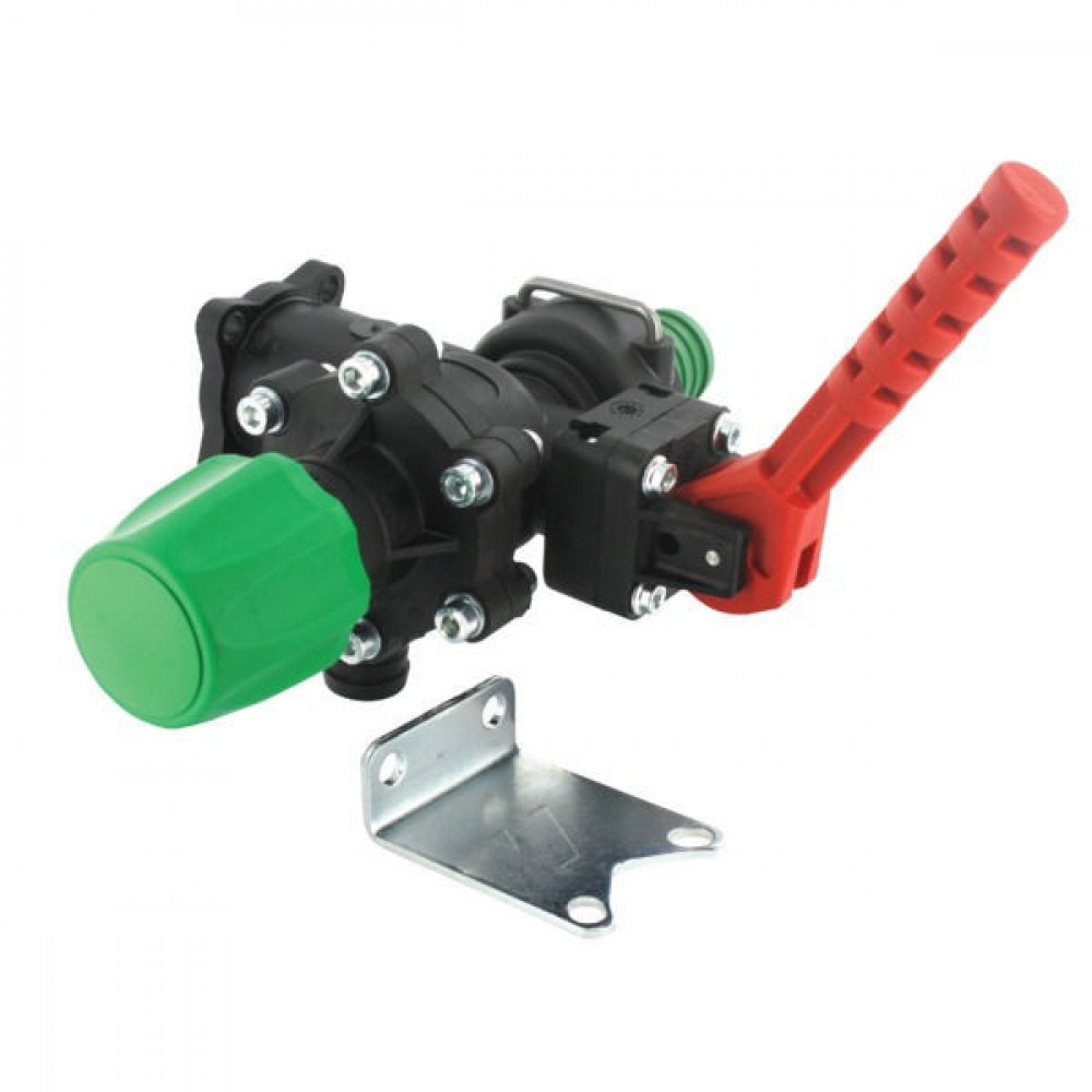 Arag Hoofdkraan + drukregelaar - 471202 | 20 bar | max. 150 l/min at 3 bar | 20 bar