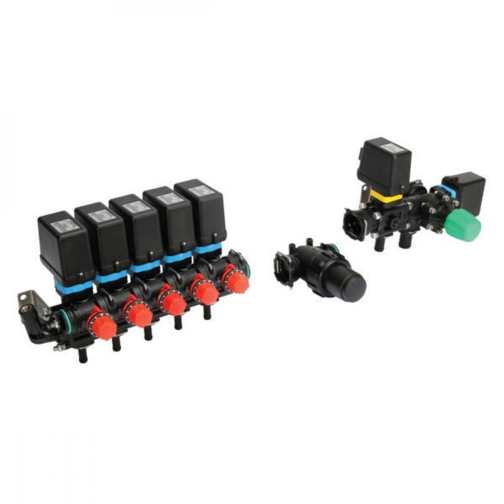 Arag Regelarmatuur 5TB + filter - 4715502E1SKIT | Moduleconstructie | Voor sproeimachines | 5 secties | incl. Filter | 20 bar