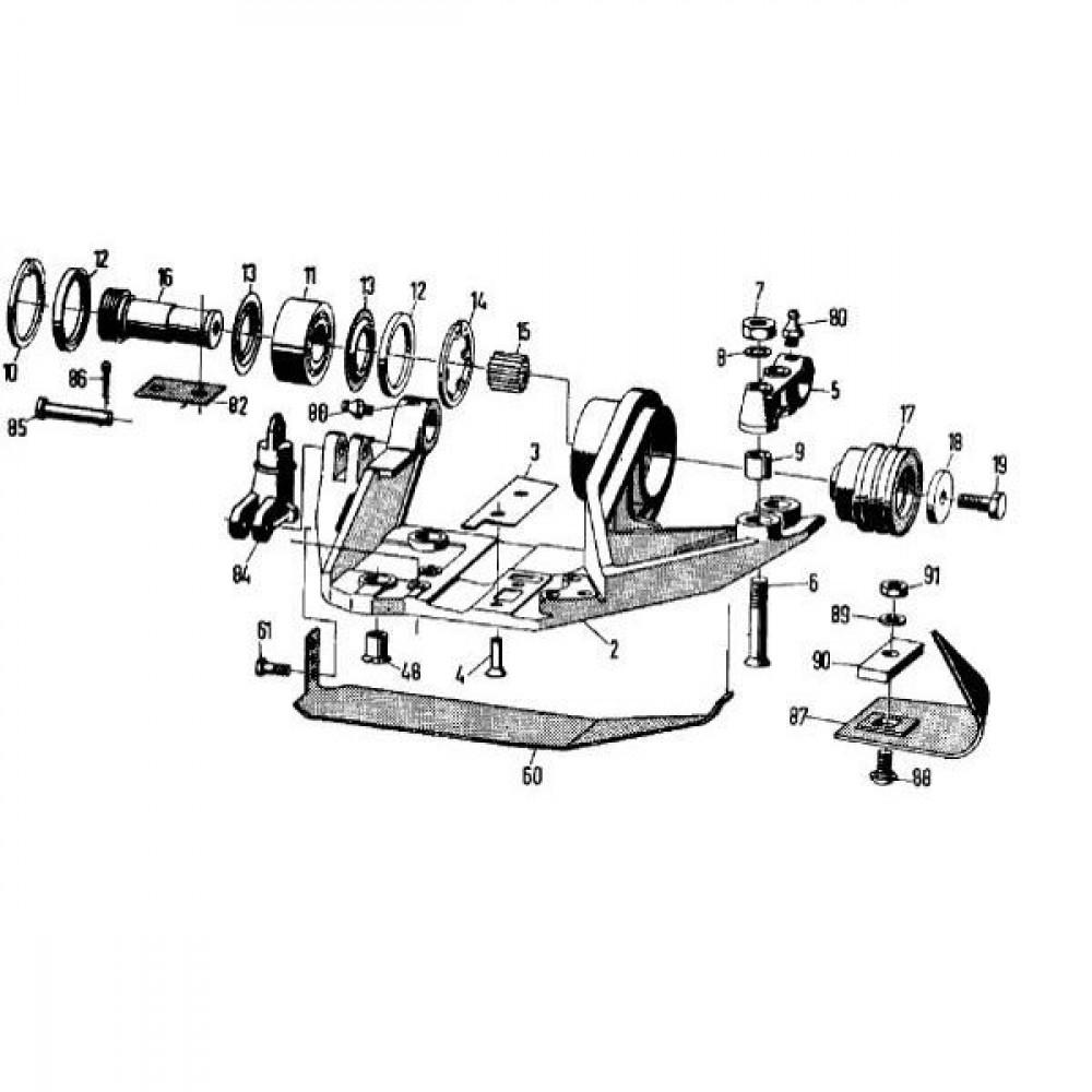 Seegerring huis 80 - 47280 | 85,5 mm | 2,5 mm | 2,65 mm | 2,2 kg/100 | DIN 472