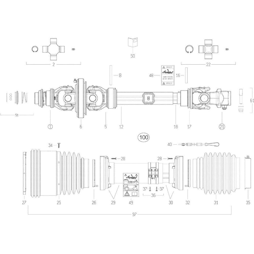 Kuhn Sticker - 4831002 | Aant.1