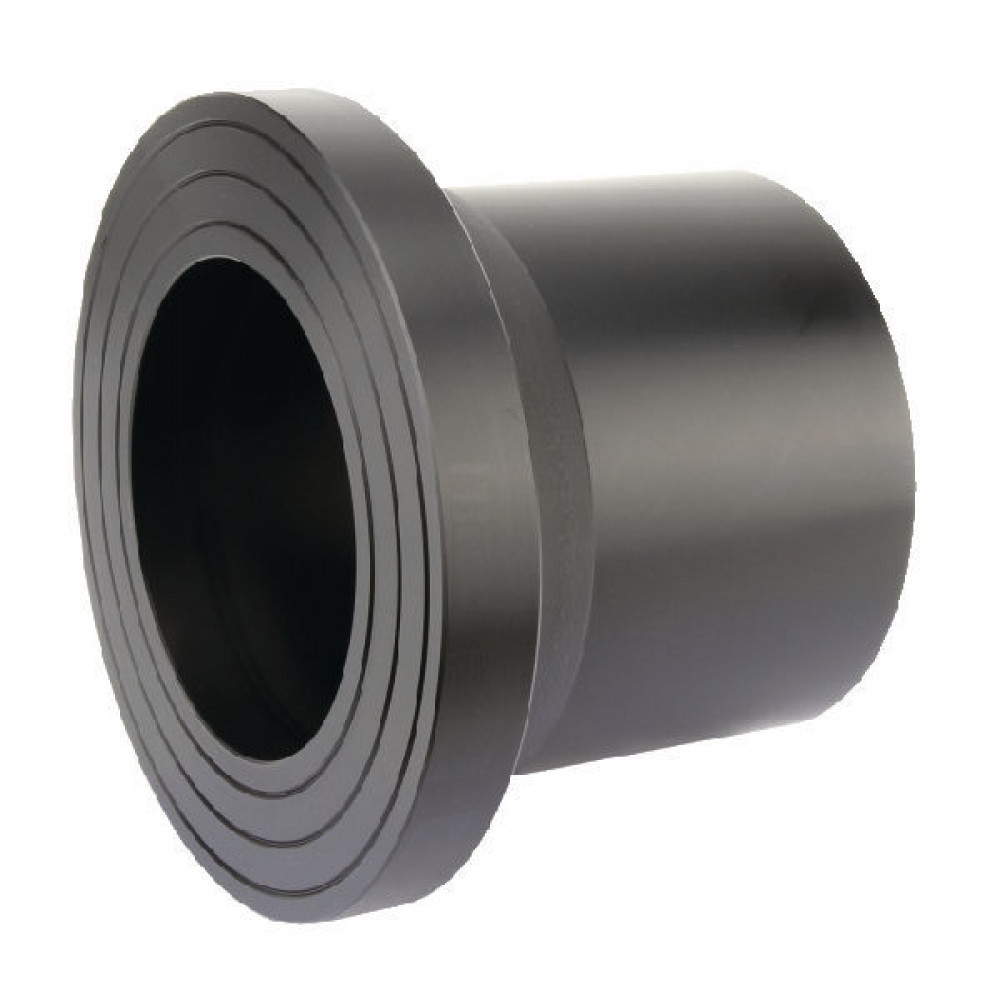 Plasson Laskraag 200 mm SDR11 - 490207200 | PE 100 SDR 11 (ISO S5) | 200 mm | 268 mm | 195 mm | 125 mm | 32 mm | 18,2 mm | 231 mm