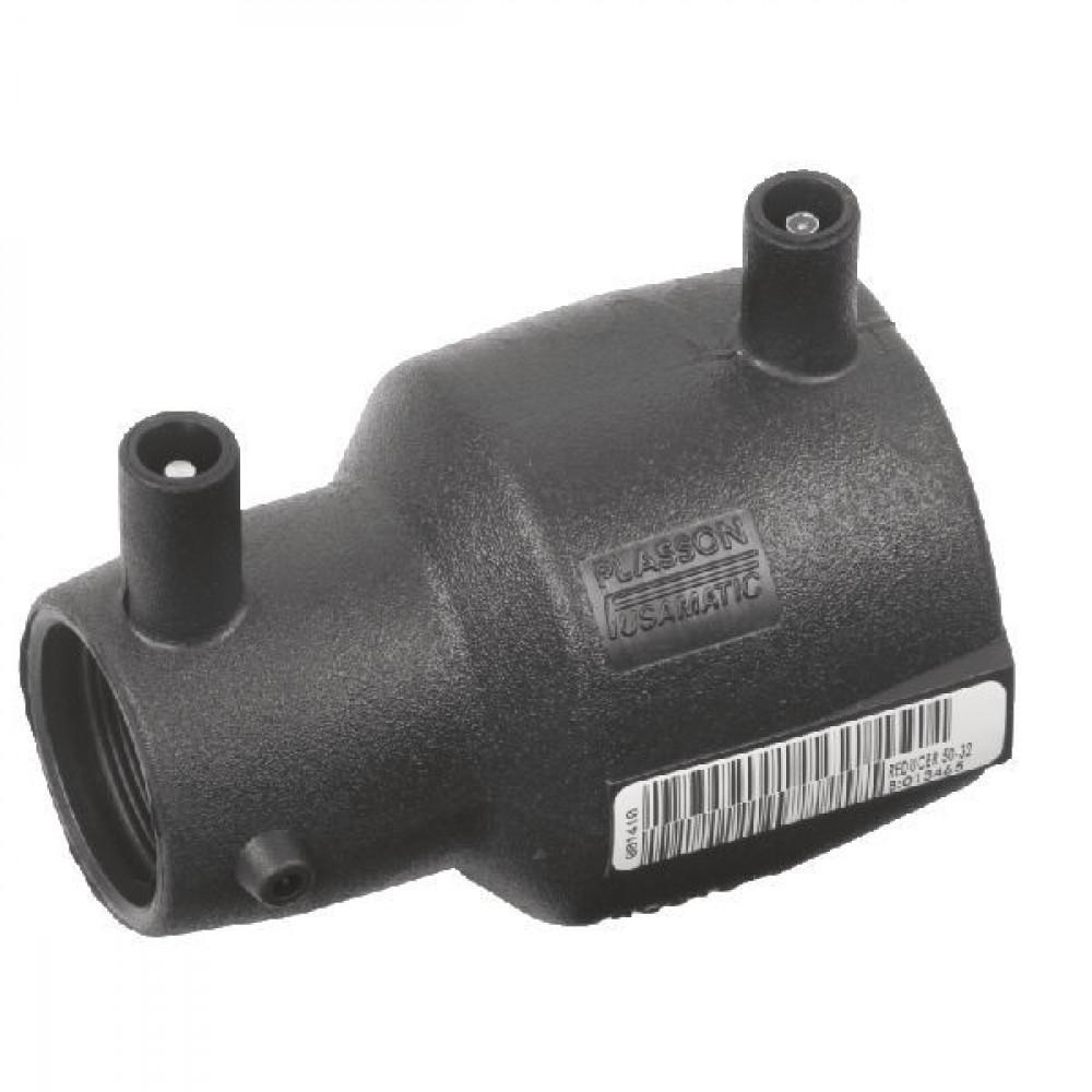 Plasson Reduceermof 110 x 90 mm - 491104110090   PE 100 SDR 11 (ISO S5)   110 mm   161 mm   90 mm