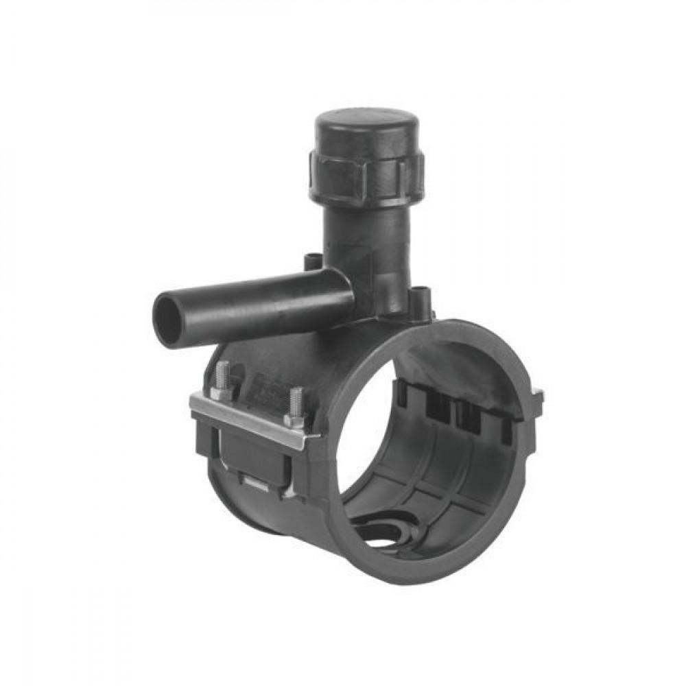 Plasson Aanboorzadel 200 mm SDR 11 - 496301200063 | PE 100 SDR 11 (ISO S5) | 200 mm | 16 bar | 1.910 g | 177 mm | 175 mm