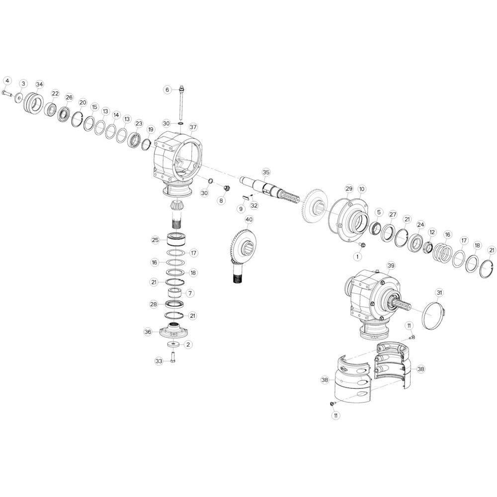 Sluitring Kuhn - 50015100 | Aant.1