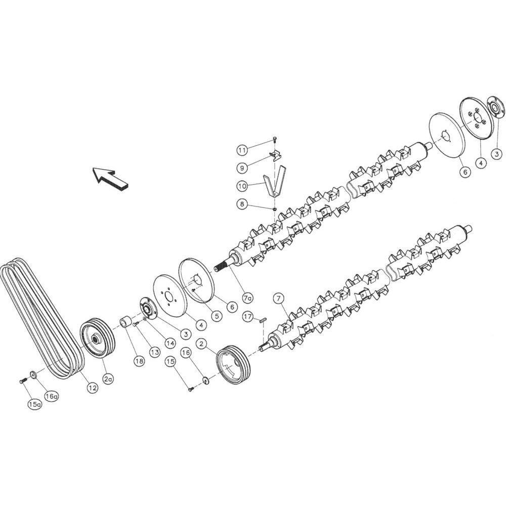 Kuhn Bout met lijmlaag - 50065000 | Aant.1 | Sn.Sn.>A0001-B0230