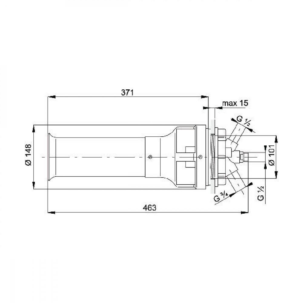Arag Tankroerwerk 2 mm - 502053AKB | 1,5-2-2,5-3 mm | Keramiek