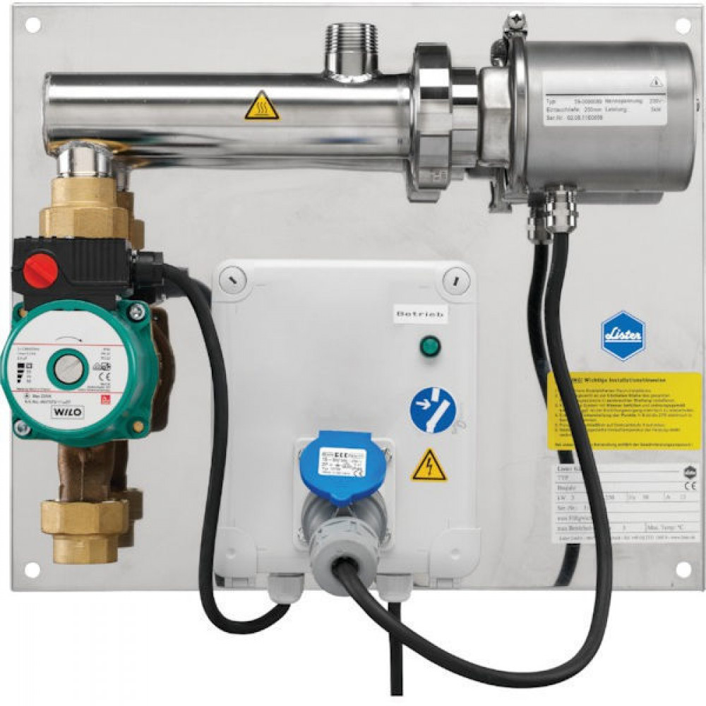 Lister Rondpompsysteem ZPS Standard - 506100050 | 3.000 kW | 1 Inch