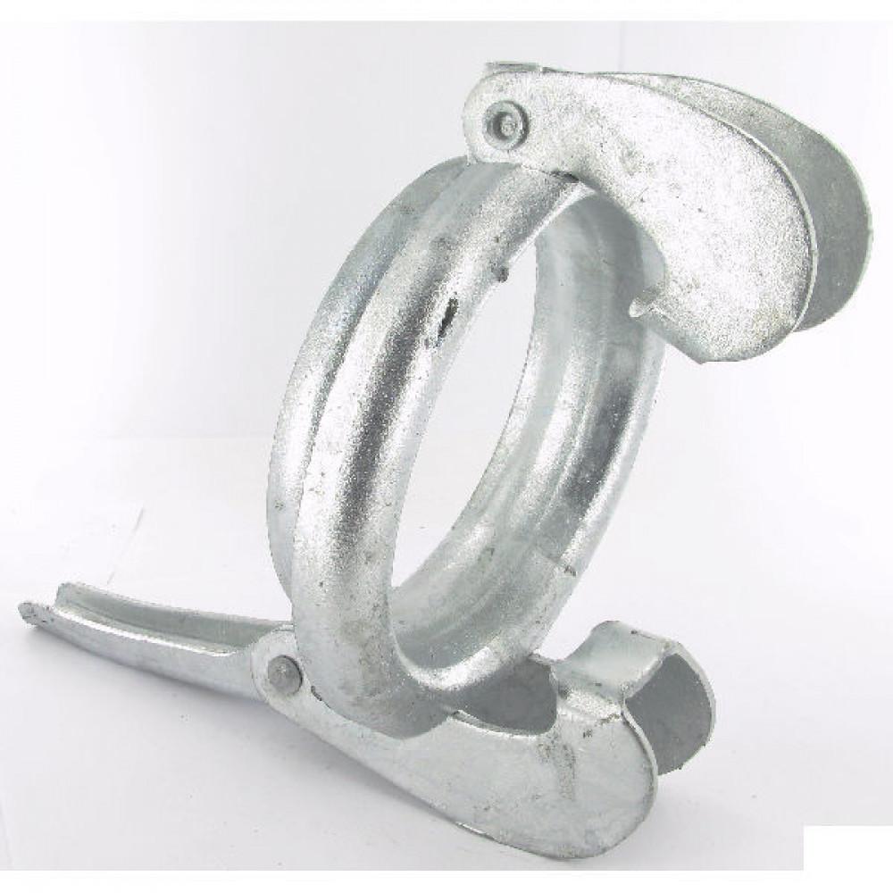 """Ring verzinkt 5"""" Bauer - 5142000GZ   Blank stalen uitvoering   Goede laseigenschappen   5 Inch"""