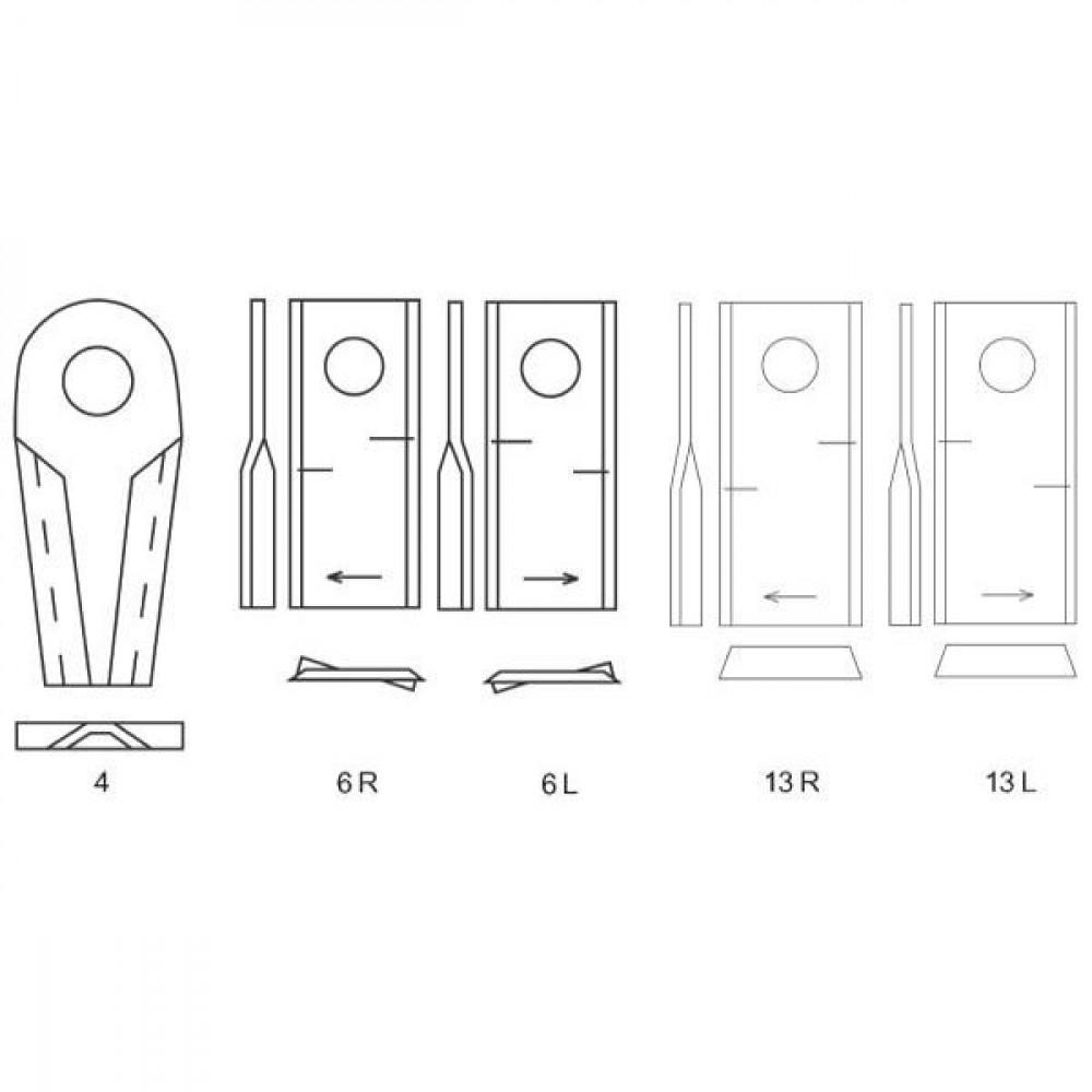 Cyclomesje L. passend v. Kuhn - 55903210KR   559.032.10   18,25 mm   107 mm