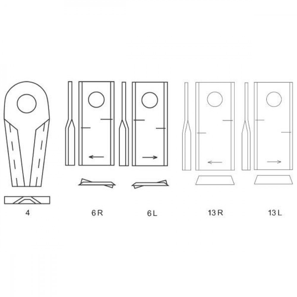 Cyclomesje R. passend v. Kuhn - 55903310KR | 559.033.10 | 18,25 mm | 107 mm