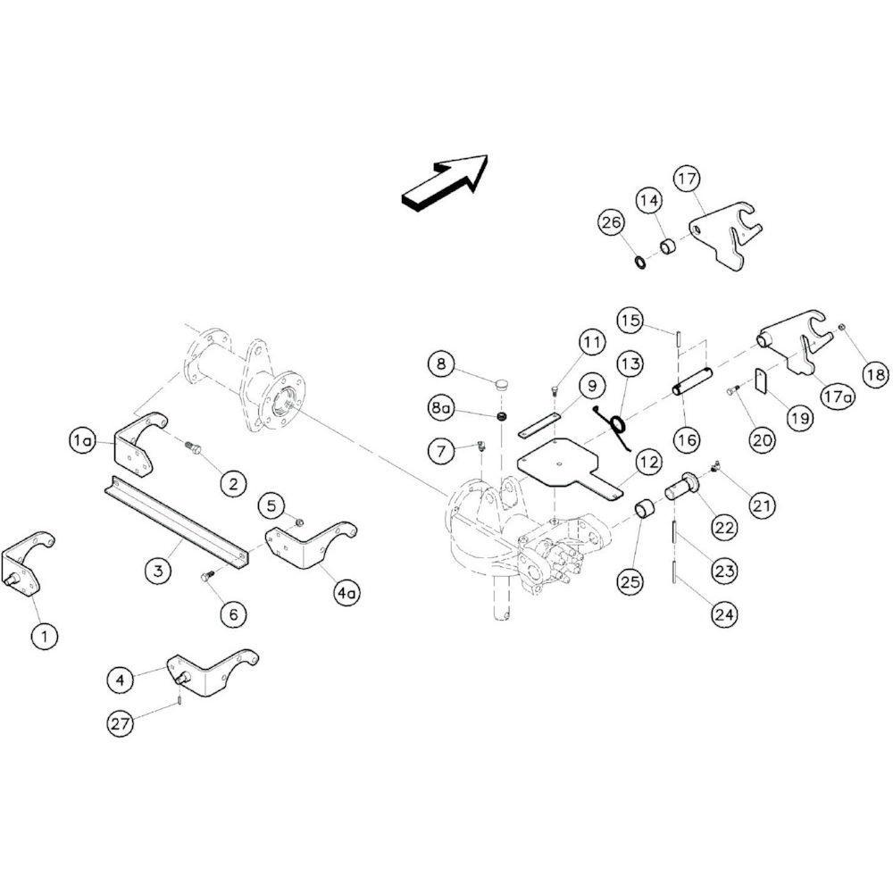 Kuhn Bevestigingsstang - 58754700 | Aant.2