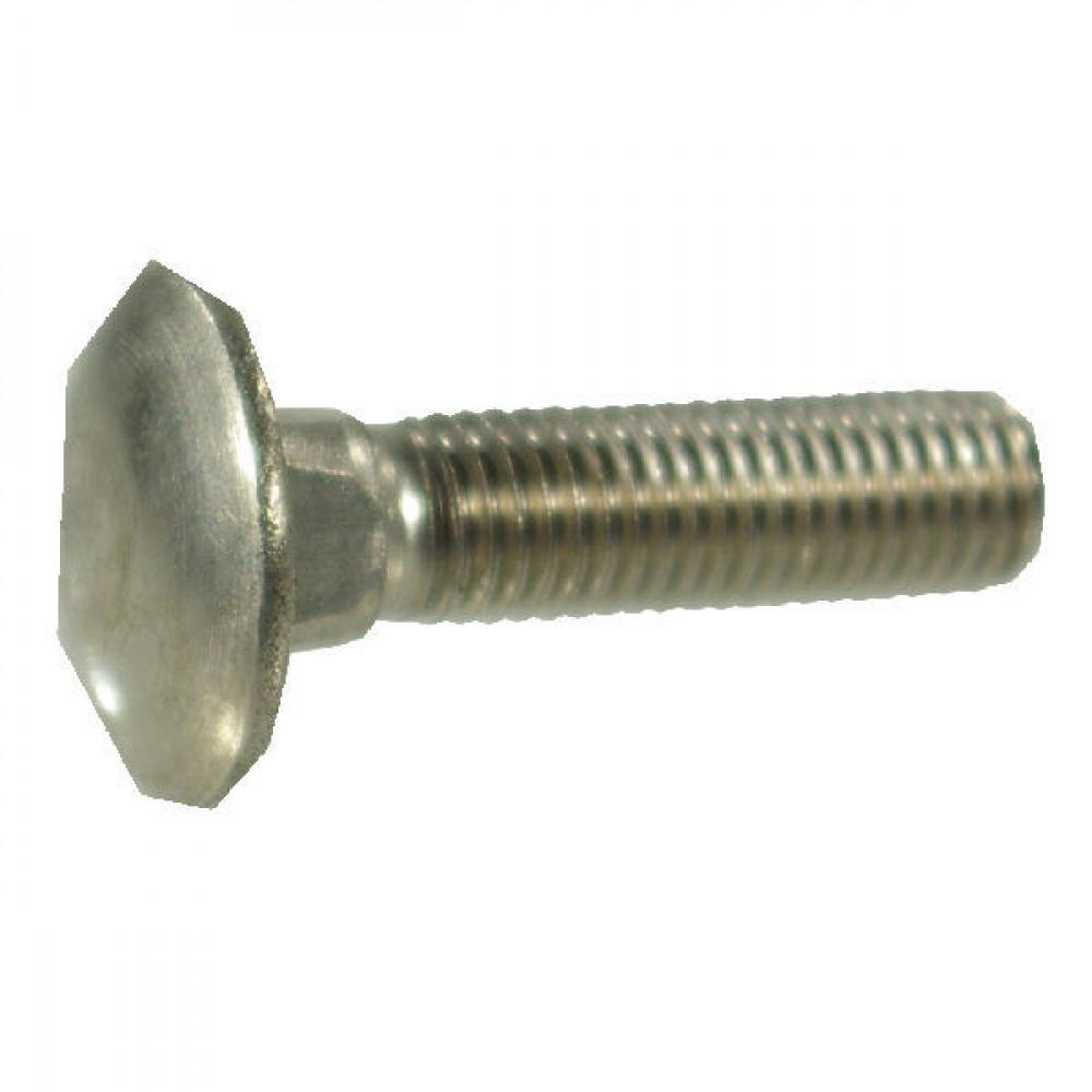 Slotbout M10x25 RVS-A2 - 6031025RVSP050 | M10x25mm, Aant.6 | KG00654400 | M10x1,5 | 24,65 mm | 18 mm | 10,58 mm | 6,6 mm | 5,38 mm | Roestvast staal | 2,573 kg/100 | Metrisch | DIN 603