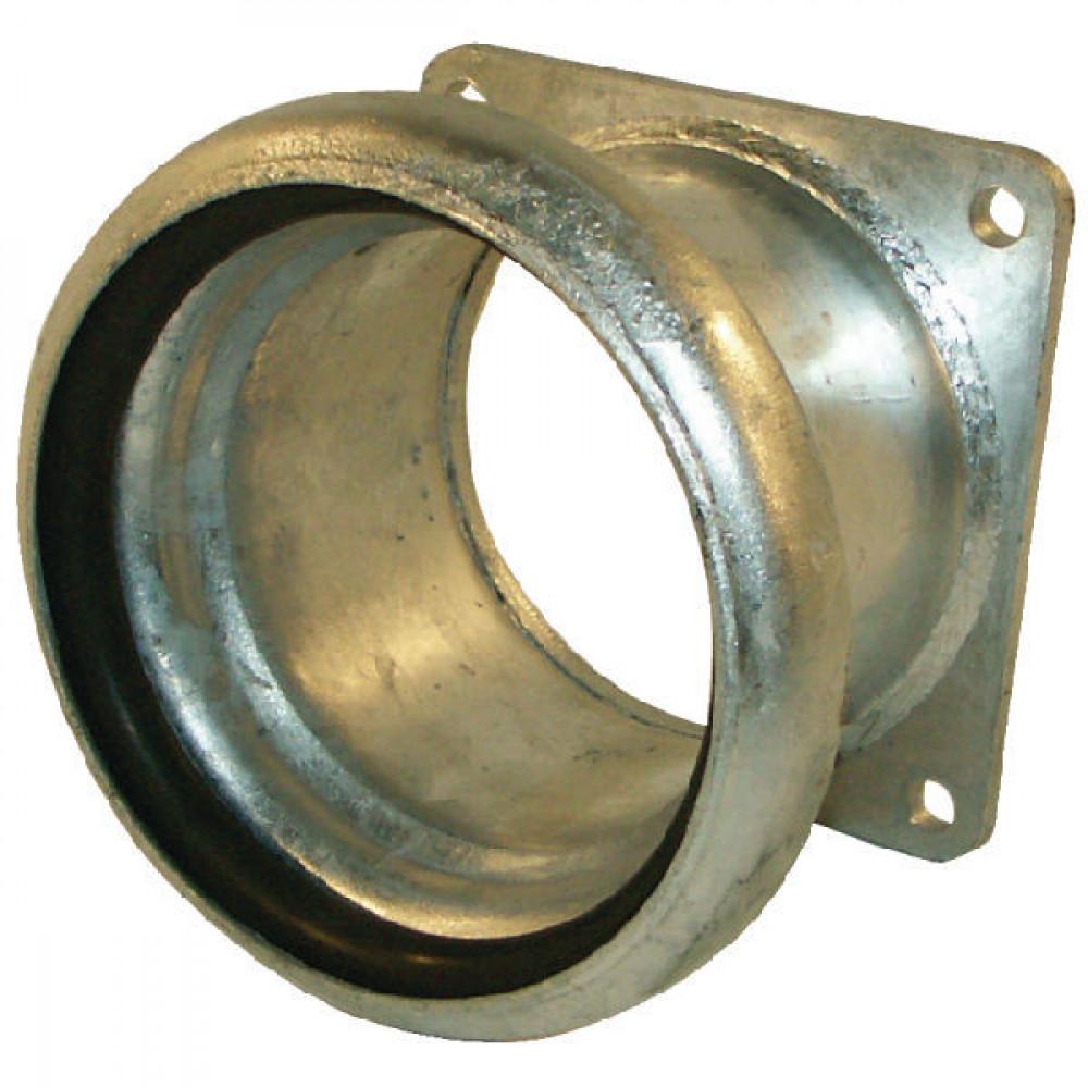 "KKM 6"" + vierkantflens Bauer - 6243000Z | Inclusief o-ring | 6 Inch | 4 6 Inch"