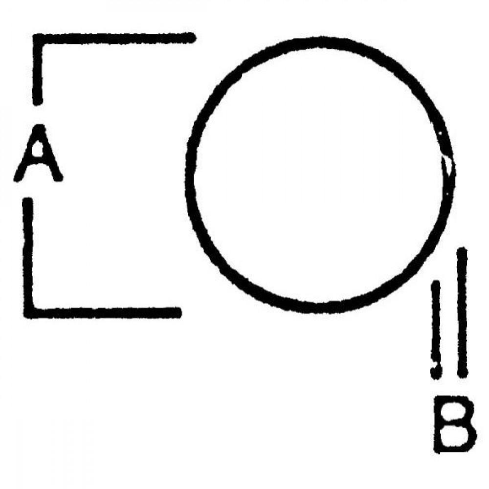"O-ring 6"" Bauer - 6652400 | 208 mm | 6 Inch"