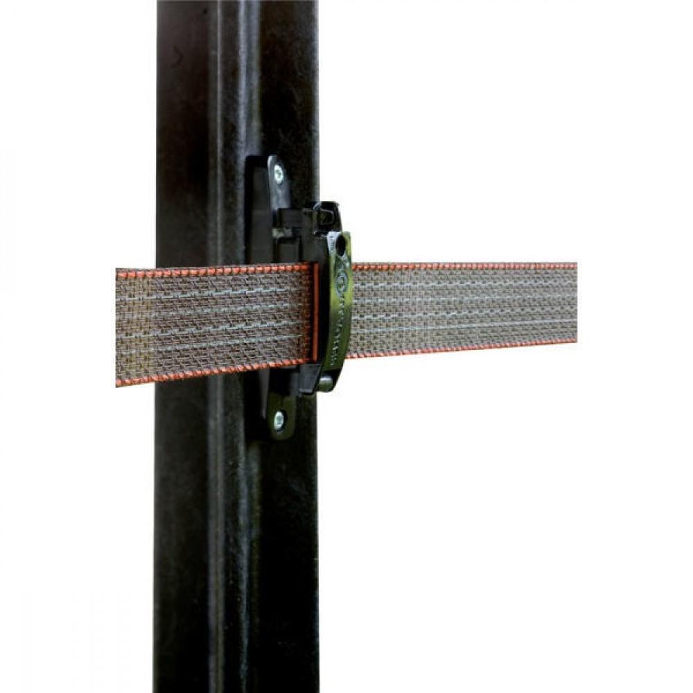 Gallagher TurboLine isolator v. paardenafrastering (100) - 699066GAL | Voor lint van 40 mm | 100 mm