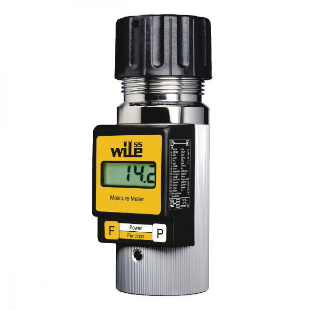 Vochtigheidsmeter Wile 55 - 7000550DE | 0.5 % +/- | West-Europa | Duits, Frans | 1x 9V 6LR61 | 1,1 kg