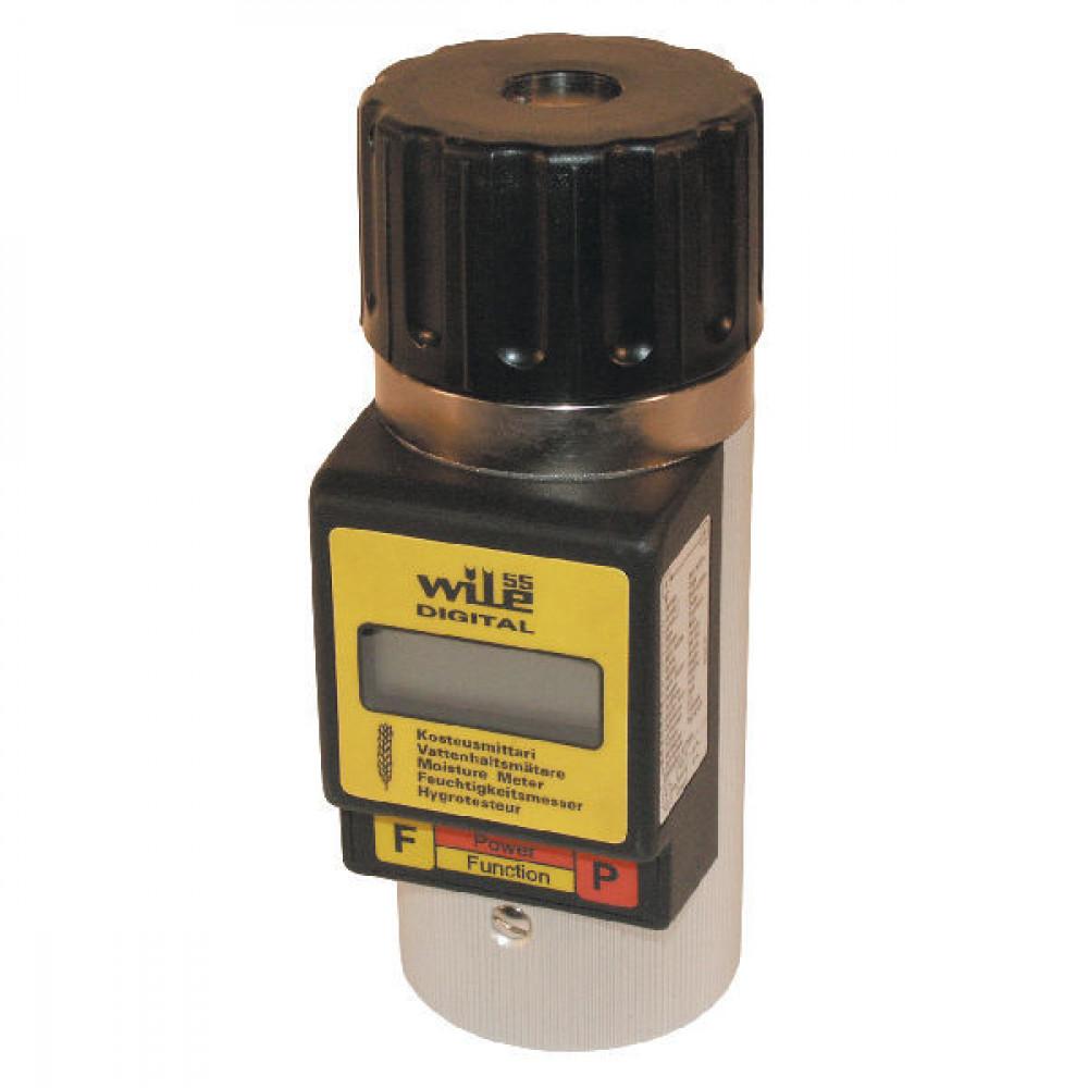 Vochtigheidsmeter Wile 55 - 7000550FR | 0.5 % +/- | West-Europa | Engels, Frans | 1x 9V 6LR61 | 1,1 kg