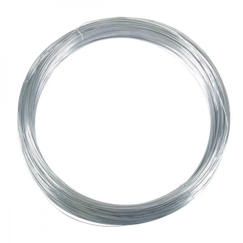 Betafence Zwaar verz. draad 1,60mm 5kg - 7007590 | 1,60 mm | Zwaar verzinkt draad