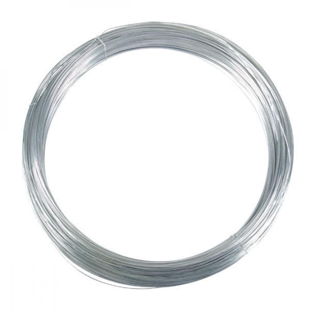 Betafence Zwaar verz. draad 2,40mm 5kg - 7007592 | 2,40 mm | Zwaar verzinkt draad