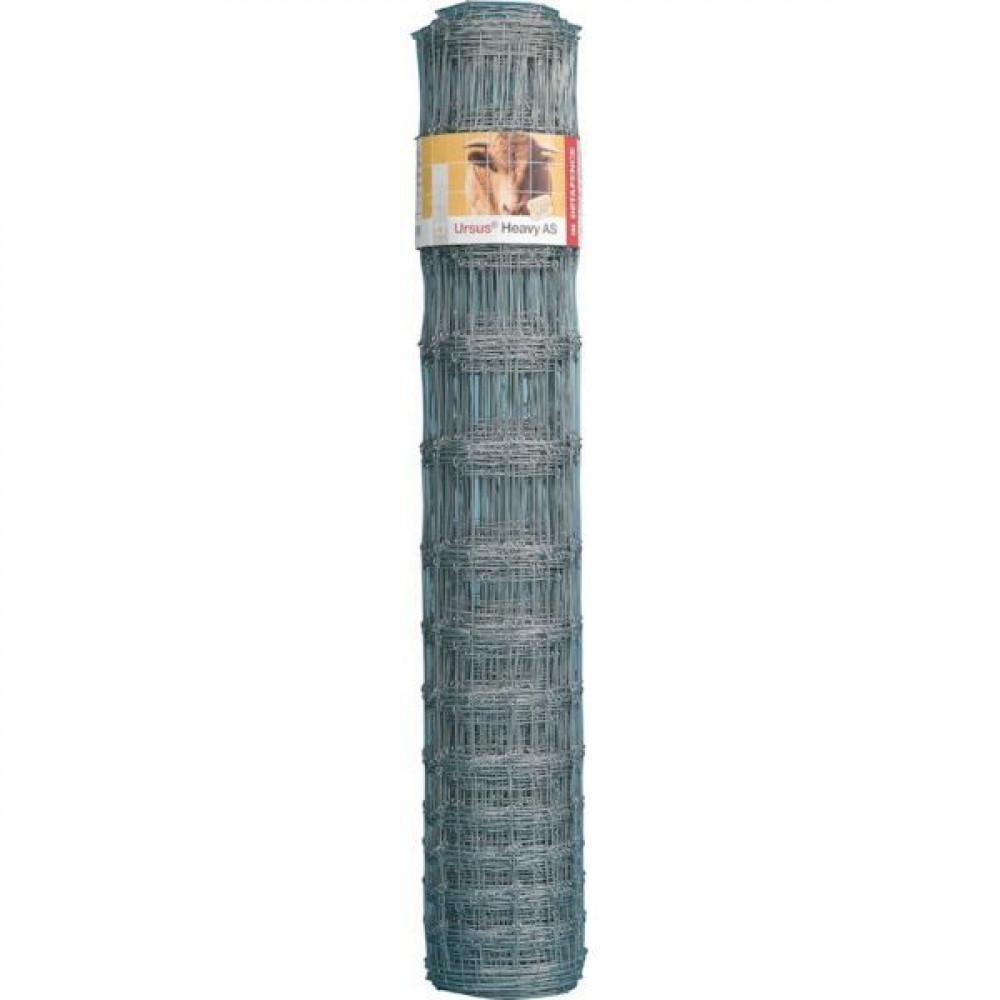 Betafence Ursus heavy as zals 120/9 /15 - 7009532 | 75 m | 120 cm | 2.5 mm | 3 mm | 15 cm | 9 pcs | 120/9/15 | Zilver | 64 kg