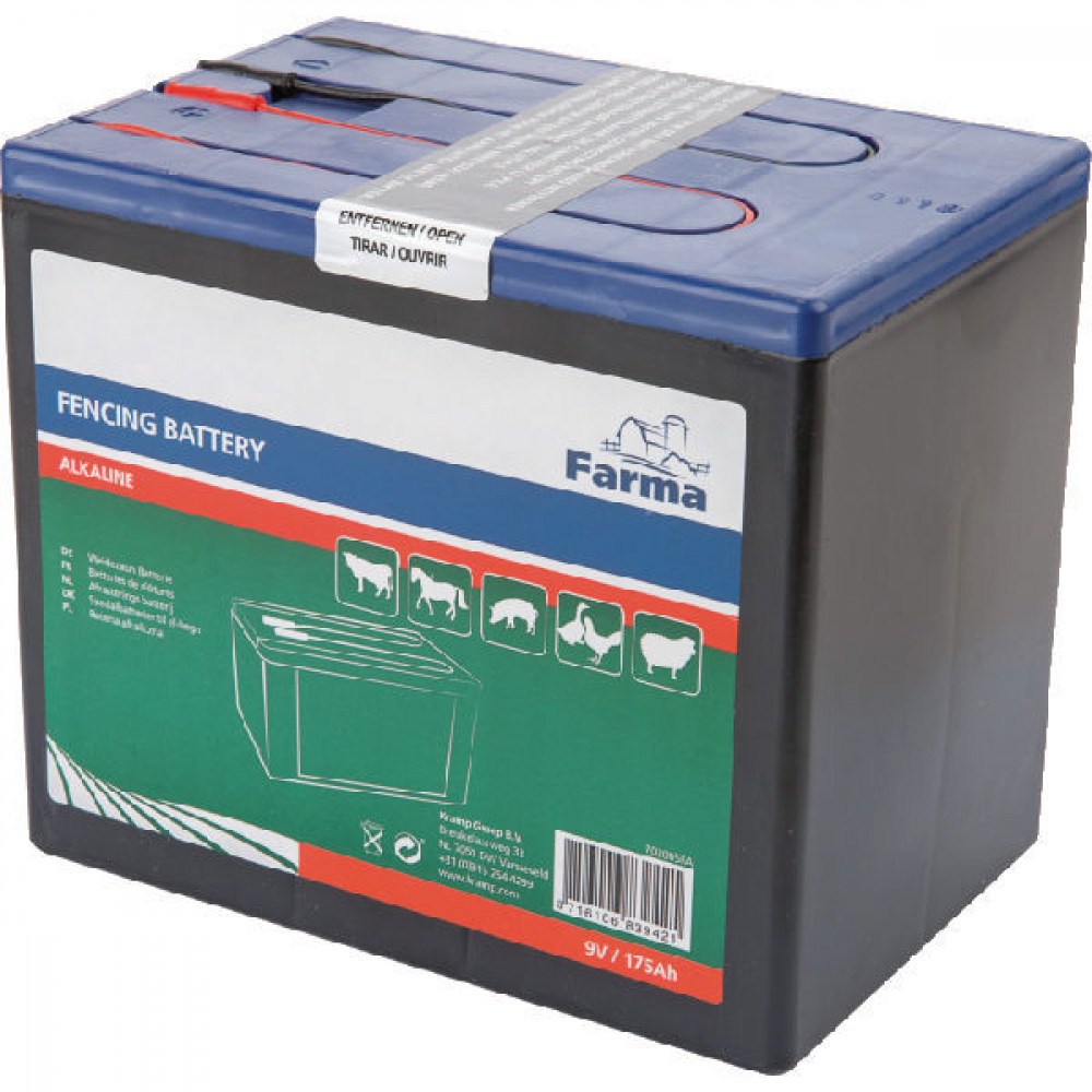 Farma Power batterij Alkaline 175 Ah - 702005FA | 190 x 125 x 160 mm | 175 Ah