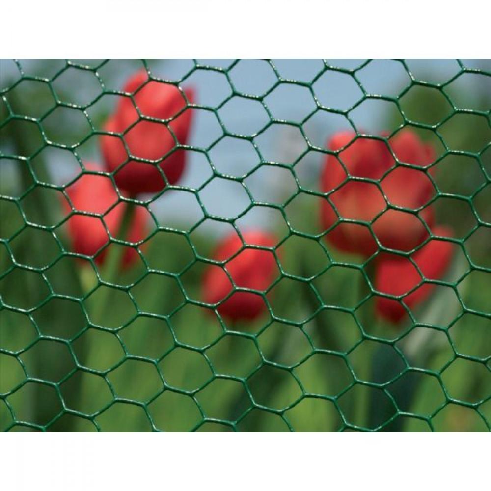 Betafence Hexanet plastic 6073 100cm 10m - 7028888 | Zeskantig vlechtwerk | Flexibel | 10 m | 100 cm | 1 mm | 36 pcs | 2.77 kg