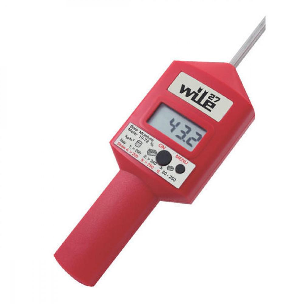 WILE Vochtmeter v. hooi,stro,silage - 7030270 | 10 70 % | 2 % +/- | 1x 9V 6LR61 | 0,325 kg