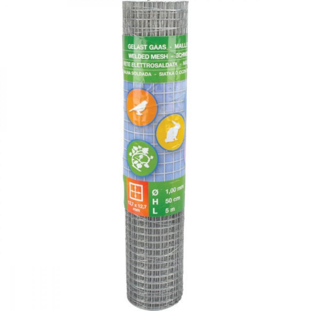 Betafence Weldm. verz. 12,7x12,7 50cm 5m - 7031680 | 50 cm | 12,7 x 12,7 mm | 2.06 kg | Zilver