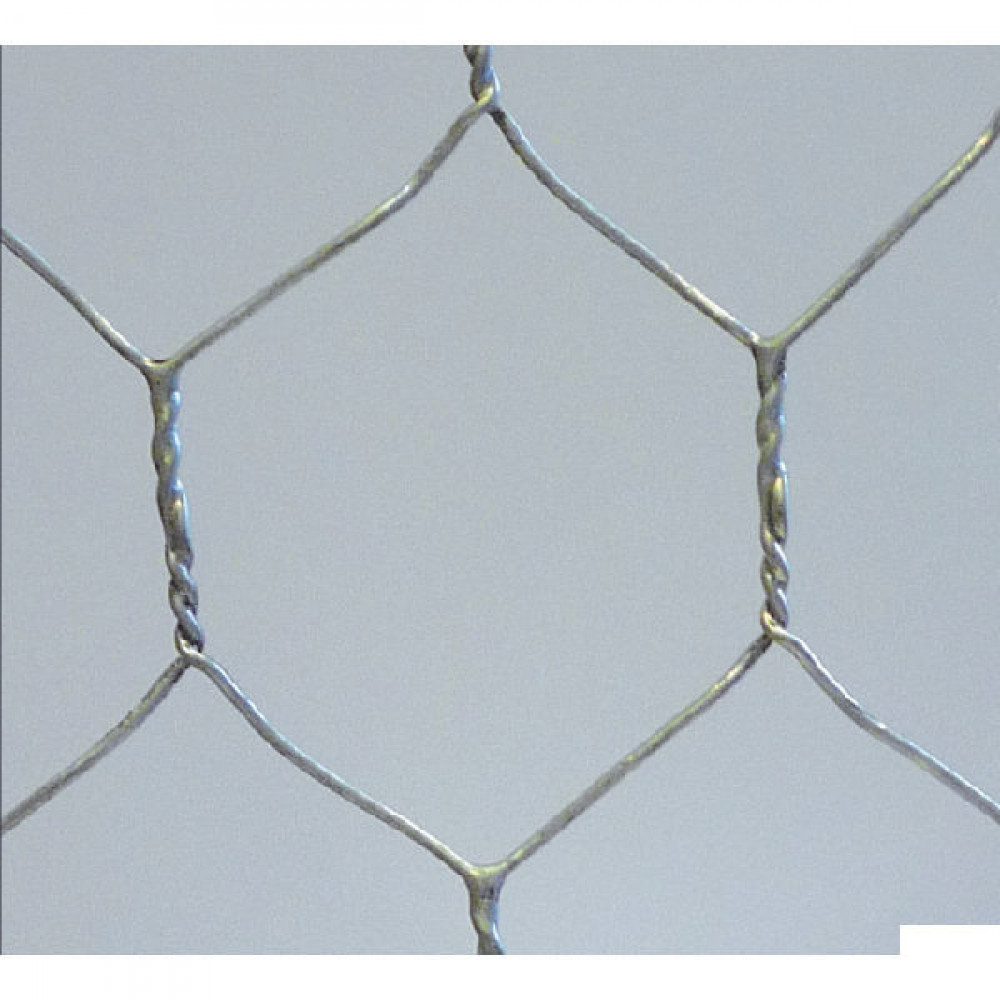 Betafence Hexanet 3gal r 13 070 50cm 10 - 7036405 | Zeskantig vlechtwerk | Flexibel | 50 cm | 13 mm | 0.7 mm | 42 pcs | 2.63 kg | Zilver