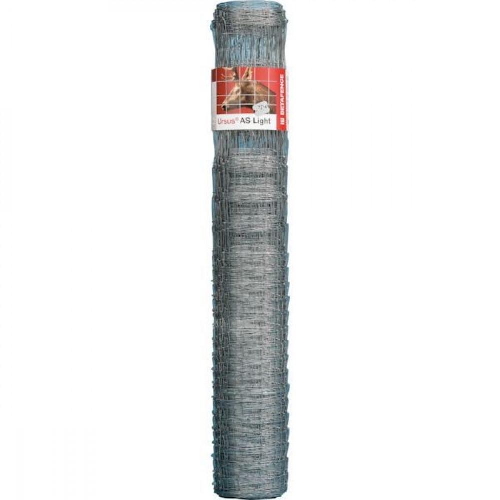 Betafence Ursus as light 3gal 180/24/15 - 7045140 | Voor konijnen en herten | 50 m | 180 cm | 1.6 mm | 2 mm | 15 cm | 25 pcs | 35 kg | Zilver