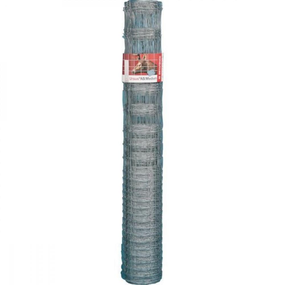 Betafence Ursus as med. 3gal 200/17/15 - 7045163 | Voor konijnen en herten | 50 m | 200 cm | 2 mm | 2.5 mm | 15 cm | 25 pcs | 42.5 kg | Zilver