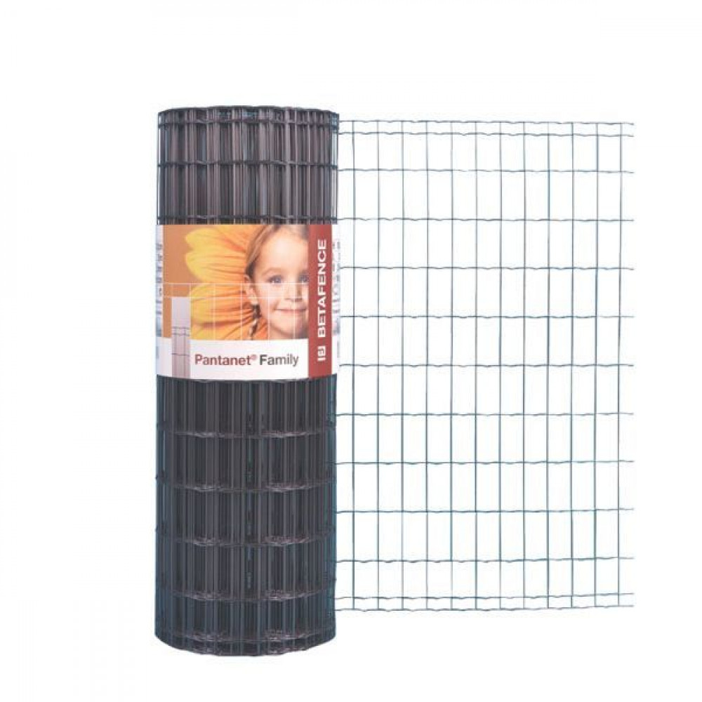 Betafence Pantanet family anth 81cm 25m - 7061268 | 25 m | 81 cm | 101,6 x 50,8 | 2.5 mm | 17.5 kg