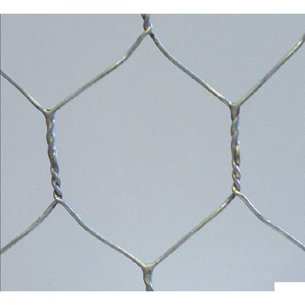 Betafence Hexanet 3gal r 25 080 50cm 50 - 7062385 | Zeskantig vlechtwerk | Flexibel | 50 cm | 25 mm | 0.8 mm | 25 pcs | 10.7 kg | Zilver