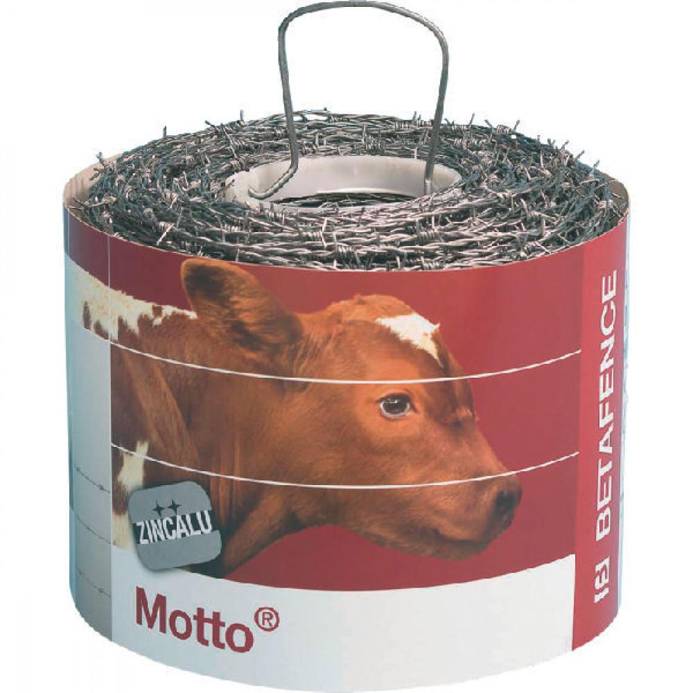 Betafence Prikkeldraad Motto 500m - 7066607   25,2 kg   1,7 mm/m   1,45 mm
