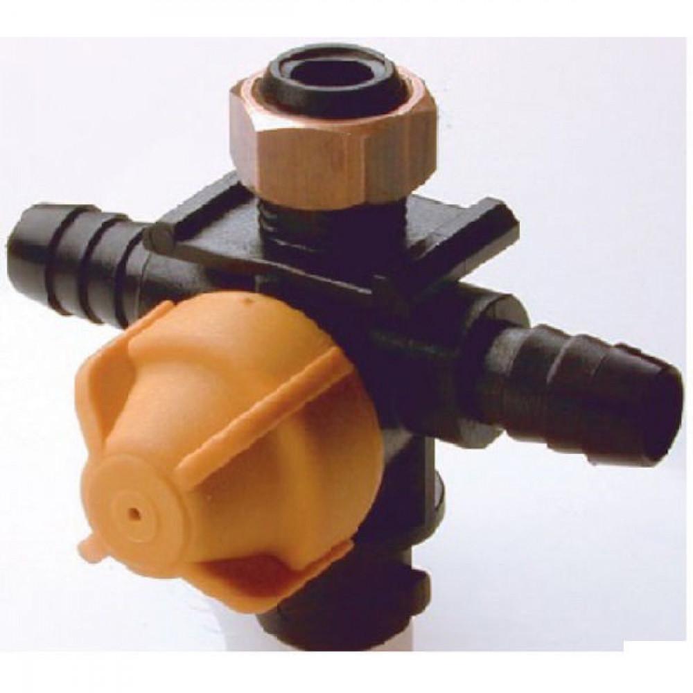 Braglia Sproeimondhouder verdeler - 71470024 | Gebruiken bij droge armen | 13mm mm | 11/16-16UN Inch