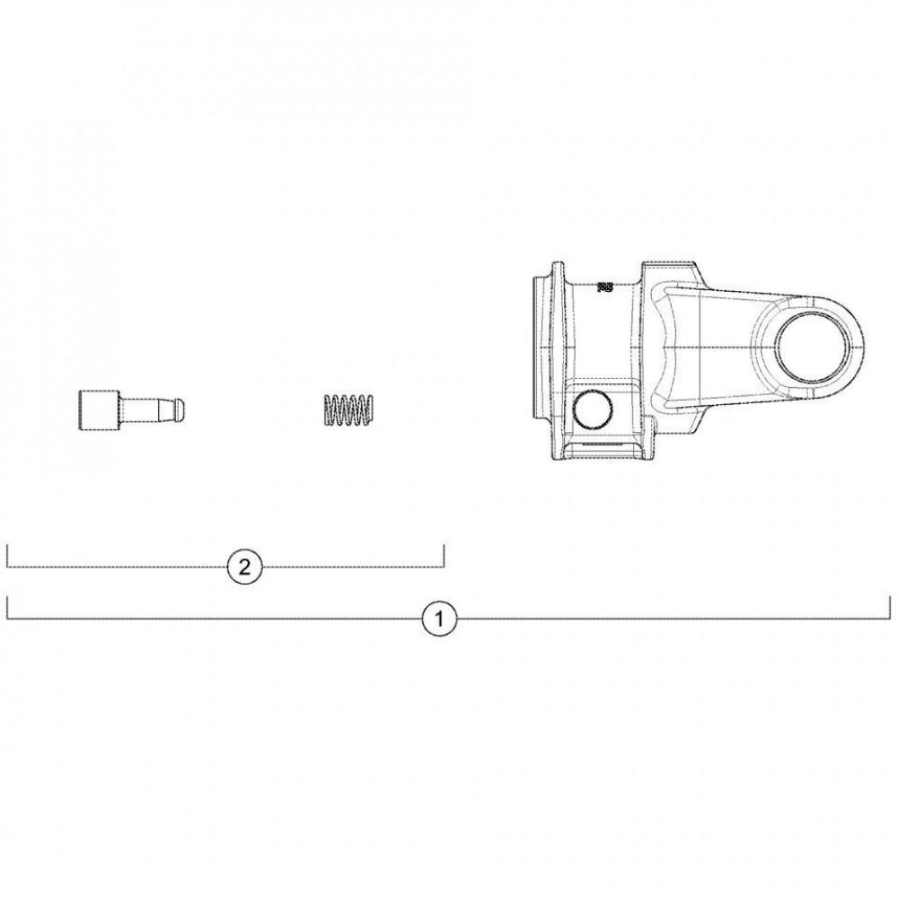 Kuhn Zeskantbout - 80061448