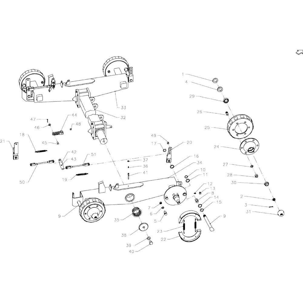 Kuhn Wheel nut - 80201850 | Aant.24