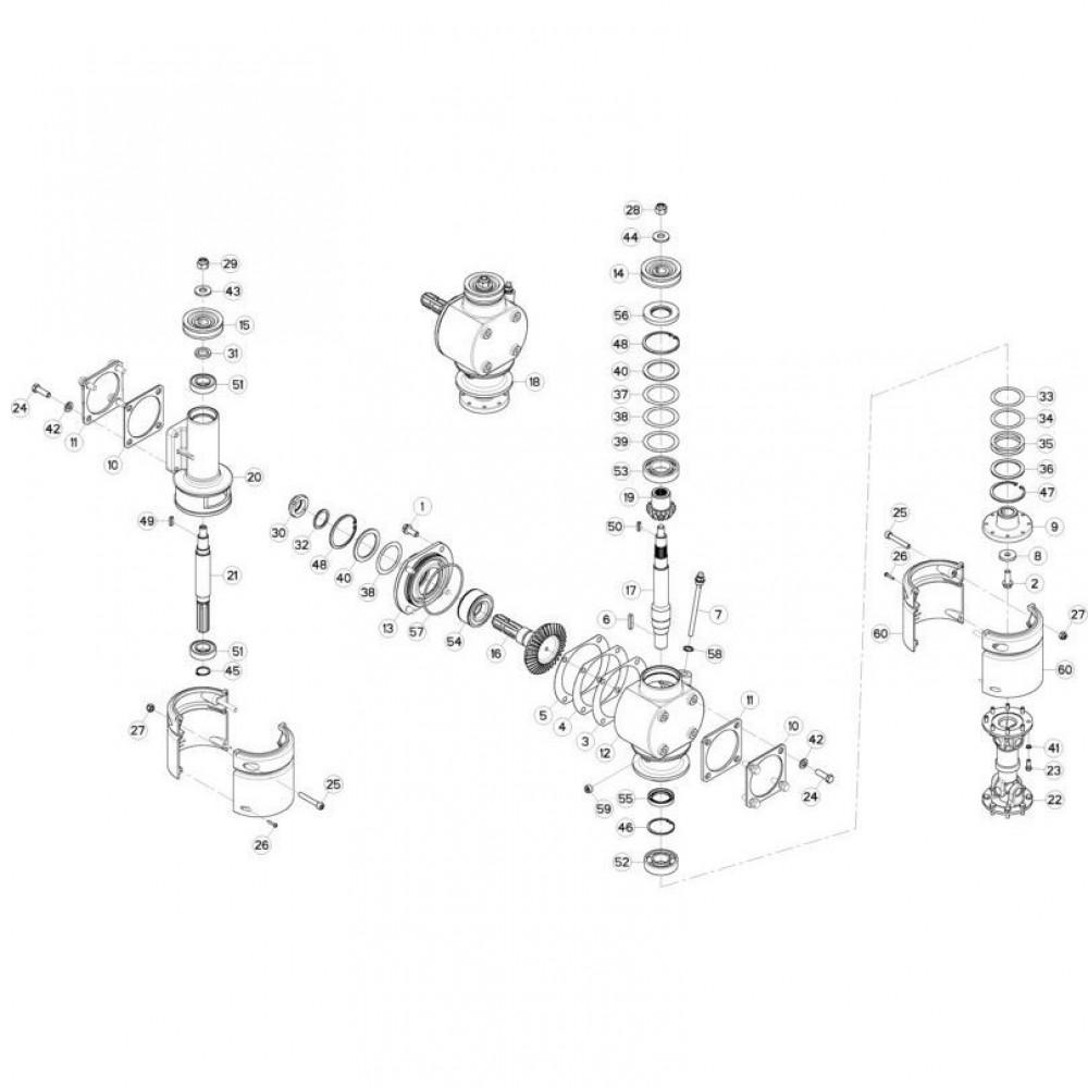Kuhn Opvulring PS 0,3mm - 80256371 | T=0.3mm, Aant.1