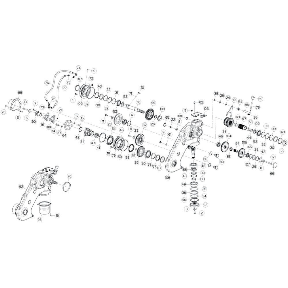 Kuhn Opvulring - 80259070 | Th=0,1mm, Aant.1