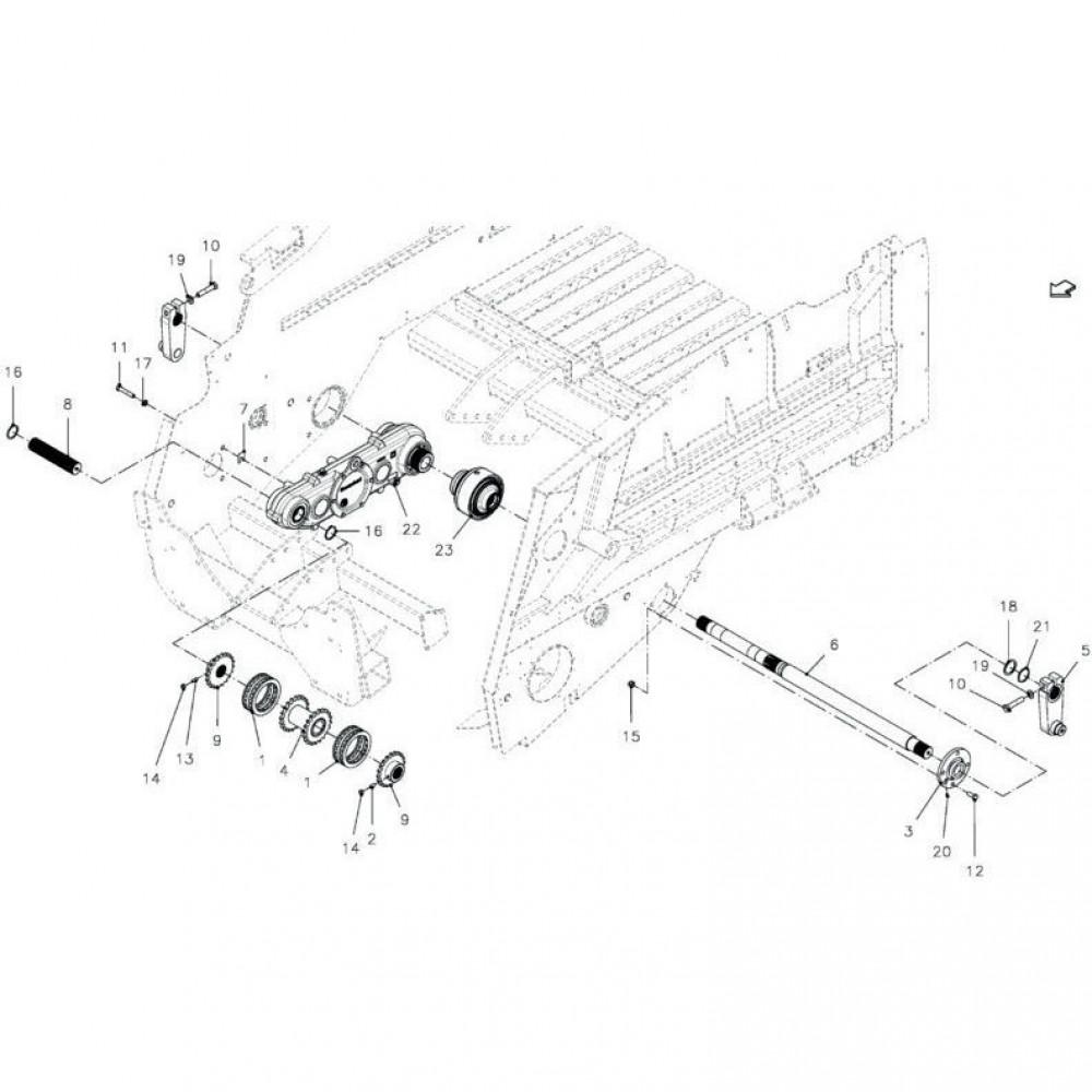Kuhn Veerring FE/ZN - 80271602 | M16, Aant.4